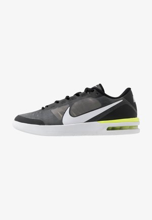COURT AIR MAX VAPOR WING MS - Scarpe da tennis per tutte le superfici - black/white/volt