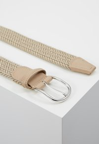Anderson's - STRECH BELT UNISEX - Pletený pásek - sand - 2