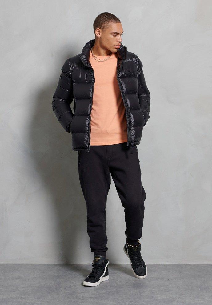 Superdry - LUXE ALPINE  - Down jacket - black