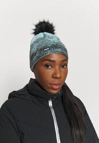 Eisbär - DRAW CRYSTAL - Bonnet - schwarz/frost/schwarz - 0