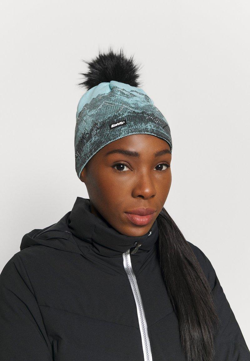 Eisbär - DRAW CRYSTAL - Bonnet - schwarz/frost/schwarz