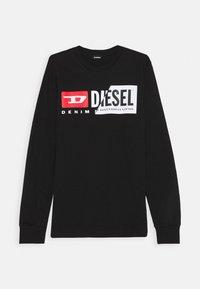 Diesel - TDIEGOCUTY MAGLIE - Long sleeved top - nero - 0