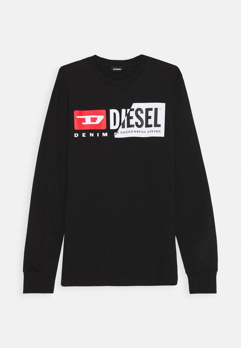 Diesel - TDIEGOCUTY MAGLIE - Long sleeved top - nero
