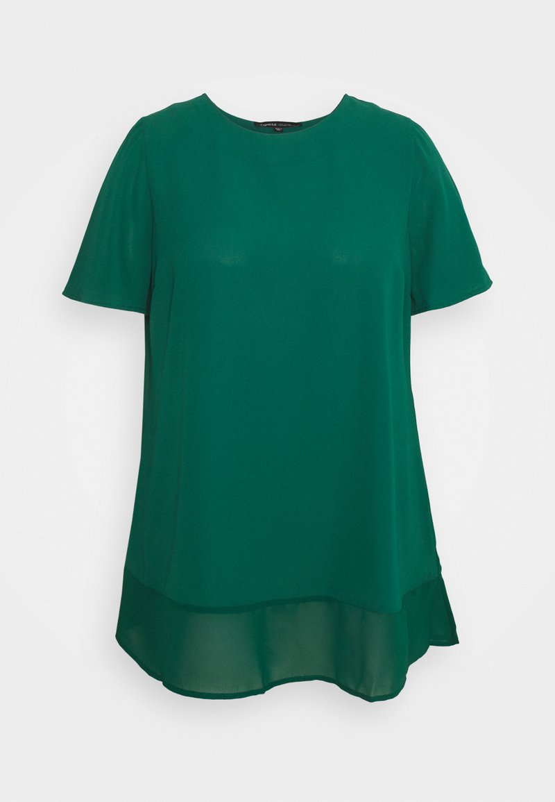 CAPSULE by Simply Be - Print T-shirt - palm green