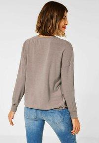 Street One - Long sleeved top - beige - 2