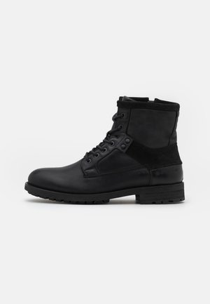 PATTON MID  - Lace-up ankle boots - black