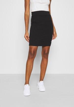 CLASSICS TIGHT SKIRT - Mini skirt - puma black