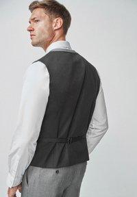 Next - TEXTURED - Suit waistcoat - grey - 1