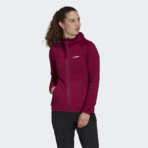 TERREX TECH FLOOCE LIGHT HOODED FLEECE - Fleece jacket - powber