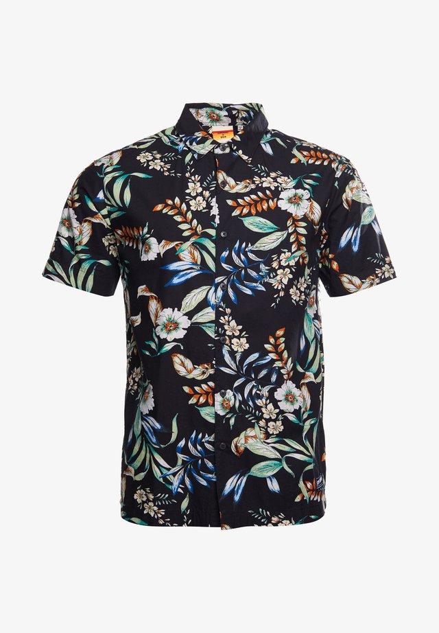 HAWAIIAN  - Overhemd - black hawaiian
