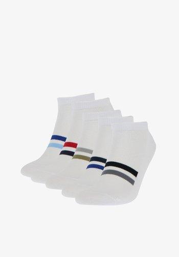 5 PACK - Socks - white