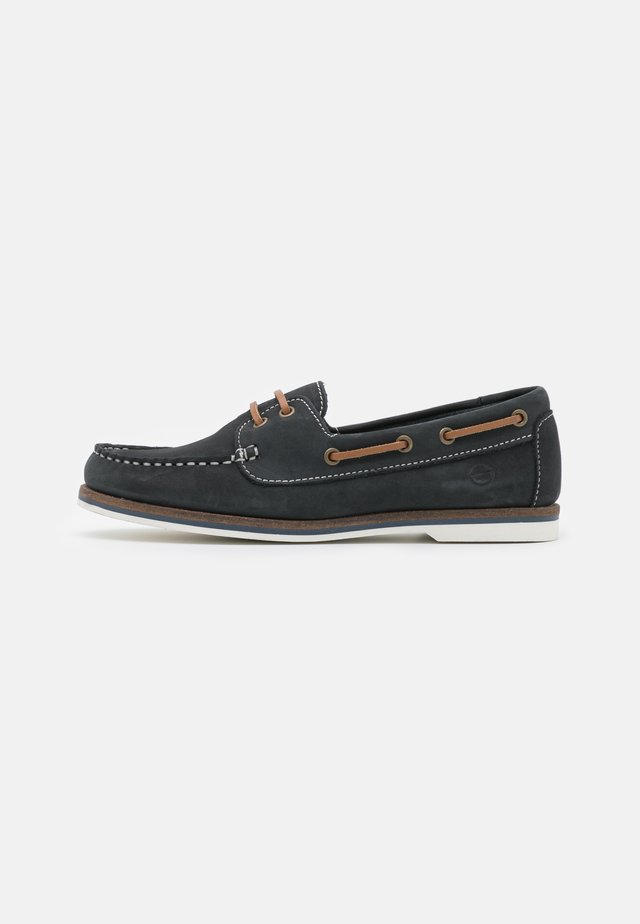 Chaussures bateau - navy