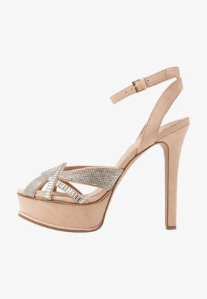 LACLABLING - Sandalen met hoge hak - bone