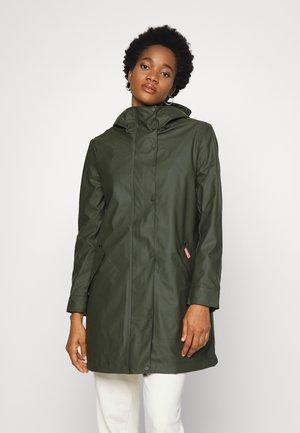 WOMENS LIGHTWEIGHT HUNTING COAT - Waterproof jacket - dark olive