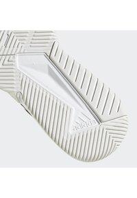 adidas Performance - COURT TEAM BOUNCE INDOOR SHOES - Handbalschoenen - core black/ftwr white/silver met. - 7