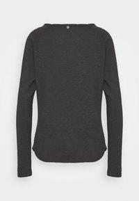 Rich & Royal - HEAVY LONGSLEEVE - Long sleeved top - charcoal - 1