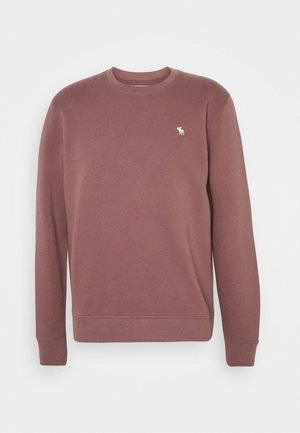 ICON CREW - Sweater - burgundy