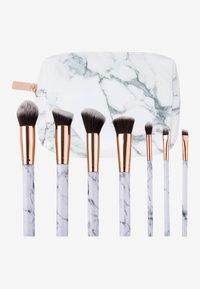 ZOË AYLA - 7 PIECE MAKE UP BRUSH SET - Make-upkwastje - white marble - 2