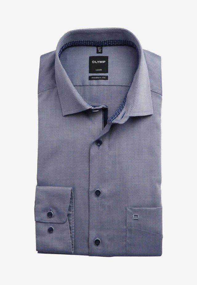 Overhemd - dunkelblau