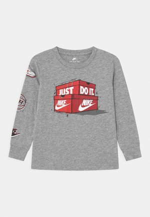 AIR MAX BOXES - Camiseta de manga larga - dark grey heather