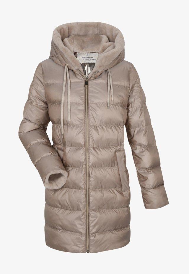 Winter coat - havanna