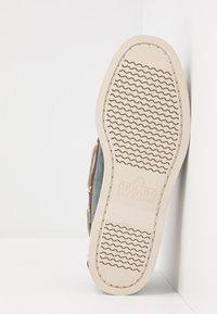 Sebago - DOCKSIDES PORTLAND SPINNAKER  - Boat shoes - blue navy/dark brown - 4