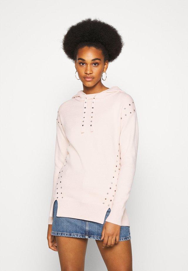 Jersey con capucha - cream
