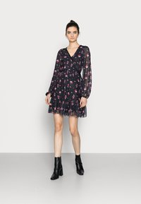 Even&Odd Tall - Denní šaty - black/multi-coloured - 1