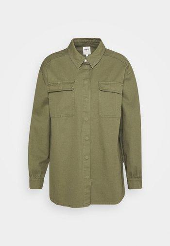 ONLGISELLE LIFE OVERSIZE - Button-down blouse - kalamata