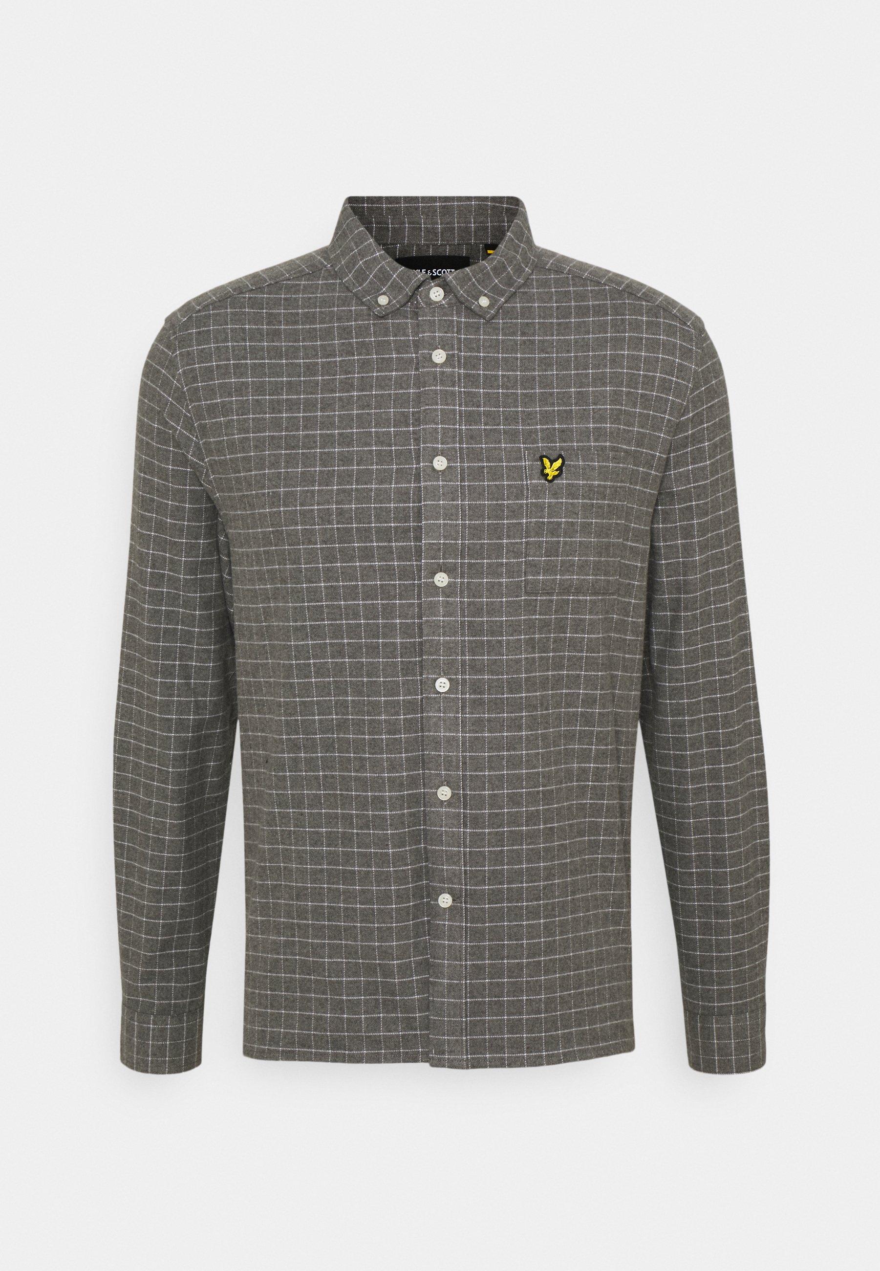 Men GRID CHECK - Shirt