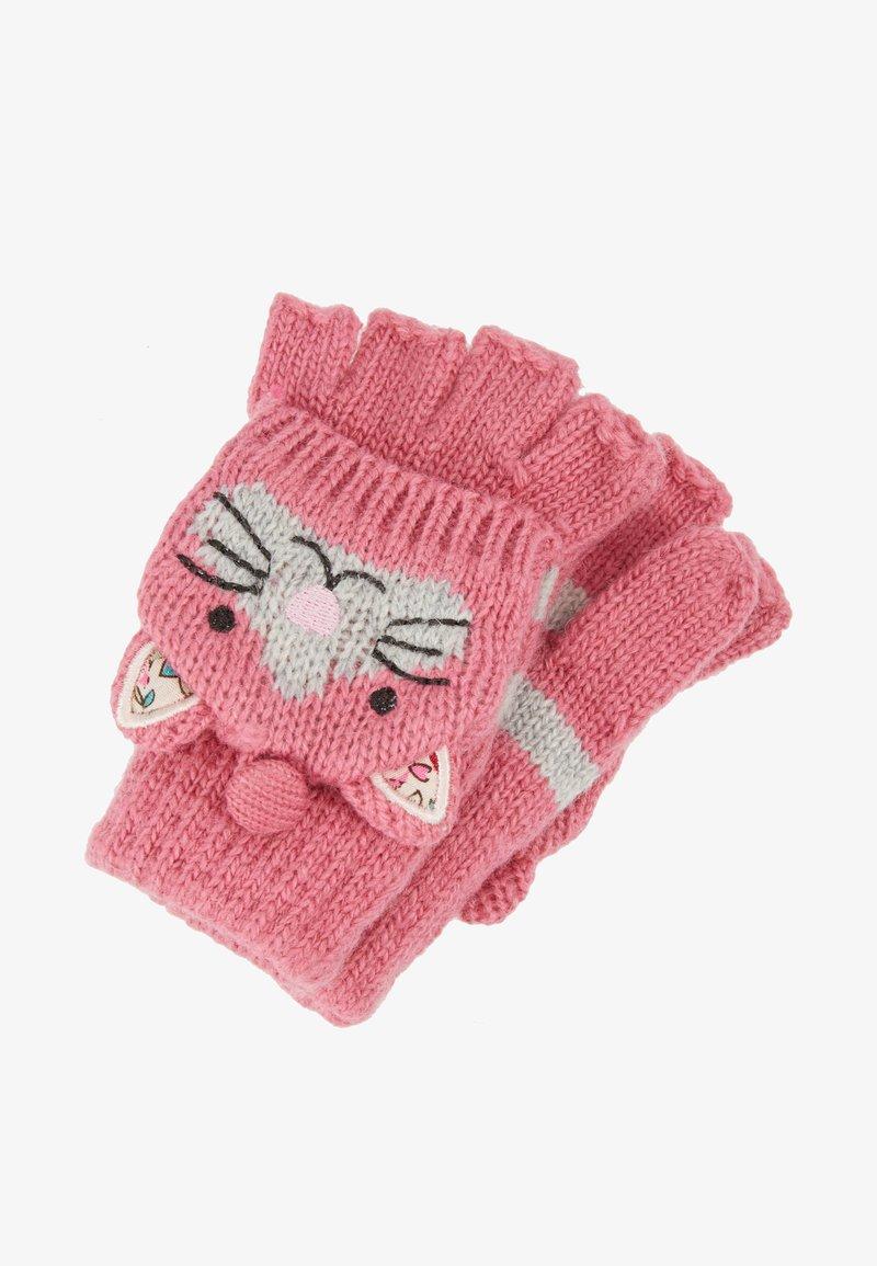 JoJo Maman Bébé - CAT GLOVES - Handsker - pink