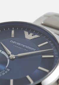 Emporio Armani Connected - RENATO CONNECTED - Chronograph watch - silver-coloured/blue - 3