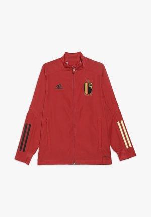 BELGIUM RBFA PRESENTATION JACKET - Training jacket - red