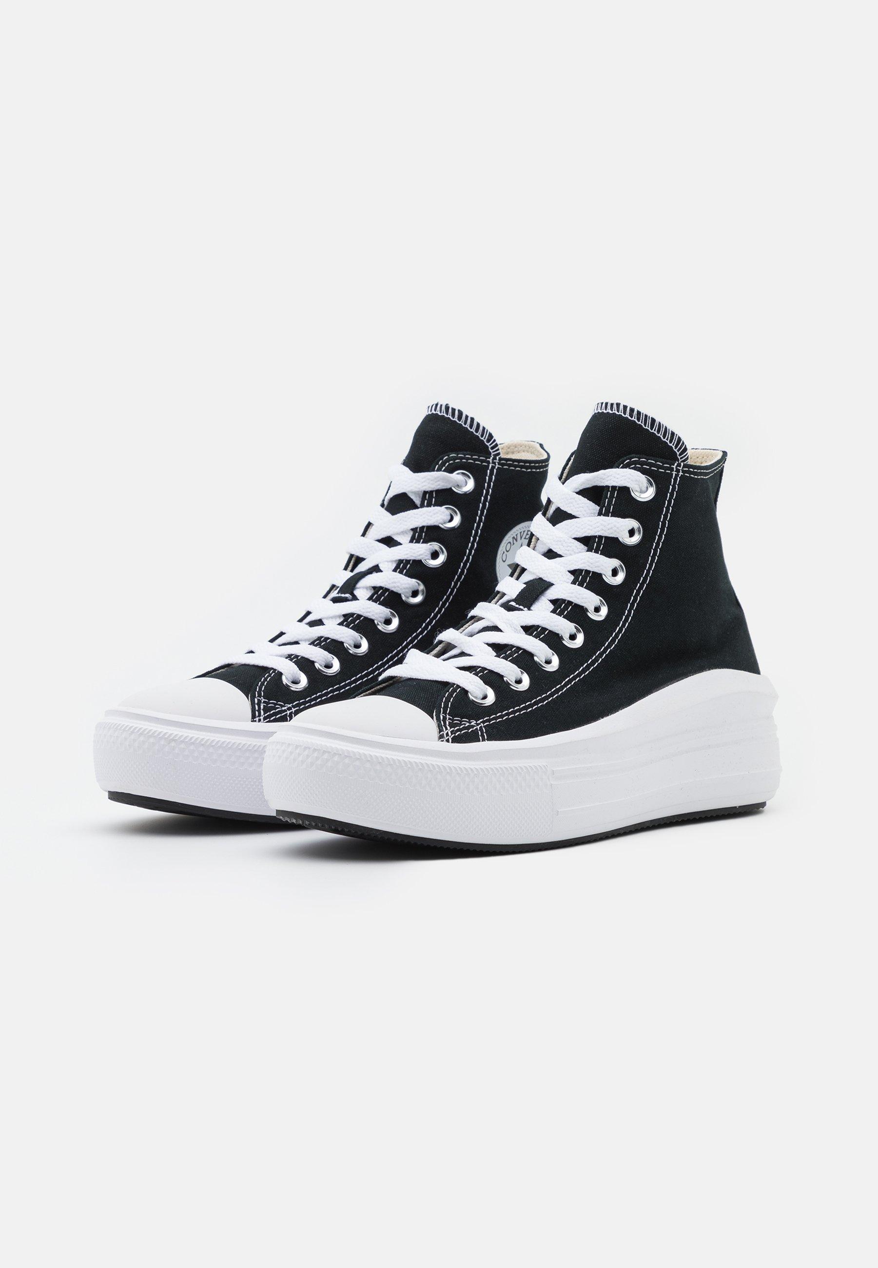 Converse CHUCK TAYLOR ALL STAR MOVE Høye joggesko black