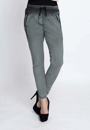 Slim fit jeans - olive grey