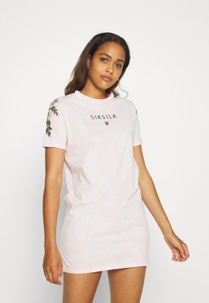 SIKSILK TYE DYE  - Jersey dress - pink
