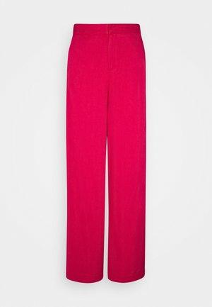 TROUSER FREIDA - Pantalones - persianred