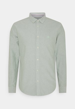 SOLID OXFORD ORGANIC - Chemise - green