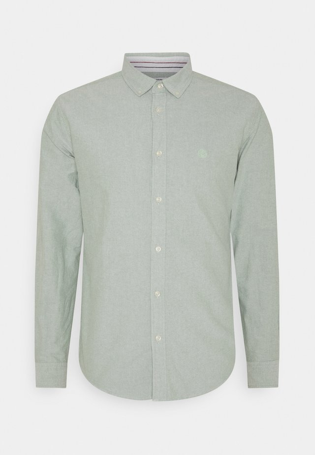 SOLID OXFORD ORGANIC - Shirt - green