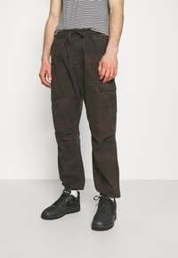 Carhartt WIP - JOGGER COLUMBIA - Cargo trousers - camo provence rinsed - 0