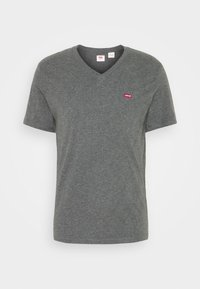 Levi's® - VNECK - T-shirts print - charcoal heather - 3