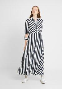 YAS - YASSAVANNA LONG DRESS - Maxi dress - carbon/star white - 2
