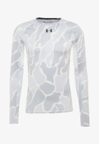Rash vest - white/black