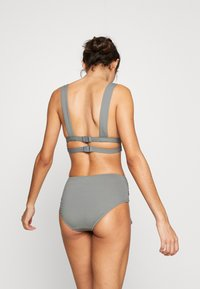 Seafolly - ACTIVEWIDE SIDE RETRO - Bikini bottoms - olive leaf - 2