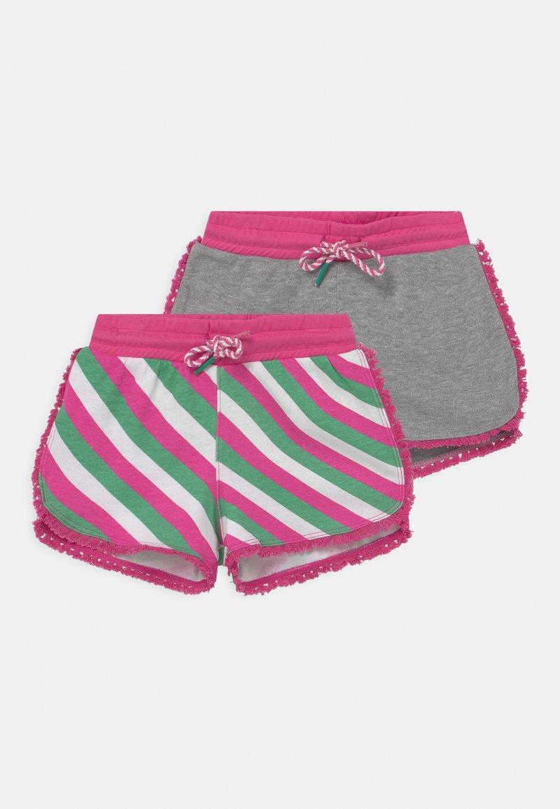 Lemon Beret - SMALL GIRLS 2 PACK - Kraťasy - azalea pink
