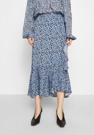 LIMELIGHT BLOSSOM - Wrap skirt - black