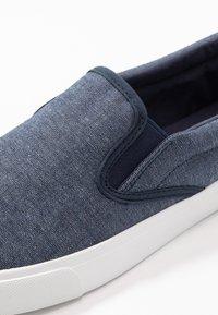 Pier One - UNISEX - Nazouvací boty - dark blue - 5