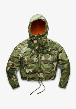 REVERSIBLE PRINTED  - Light jacket - hatton contour camo
