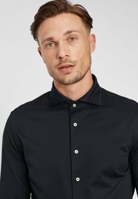 PROFUOMO - JAPANESE KNITTED - Shirt - navy - 3