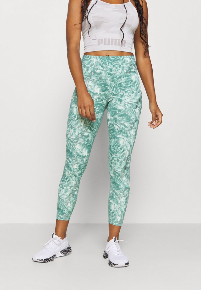 7/8 WORKOUT LEGGING - Punčochy - pale aqua green